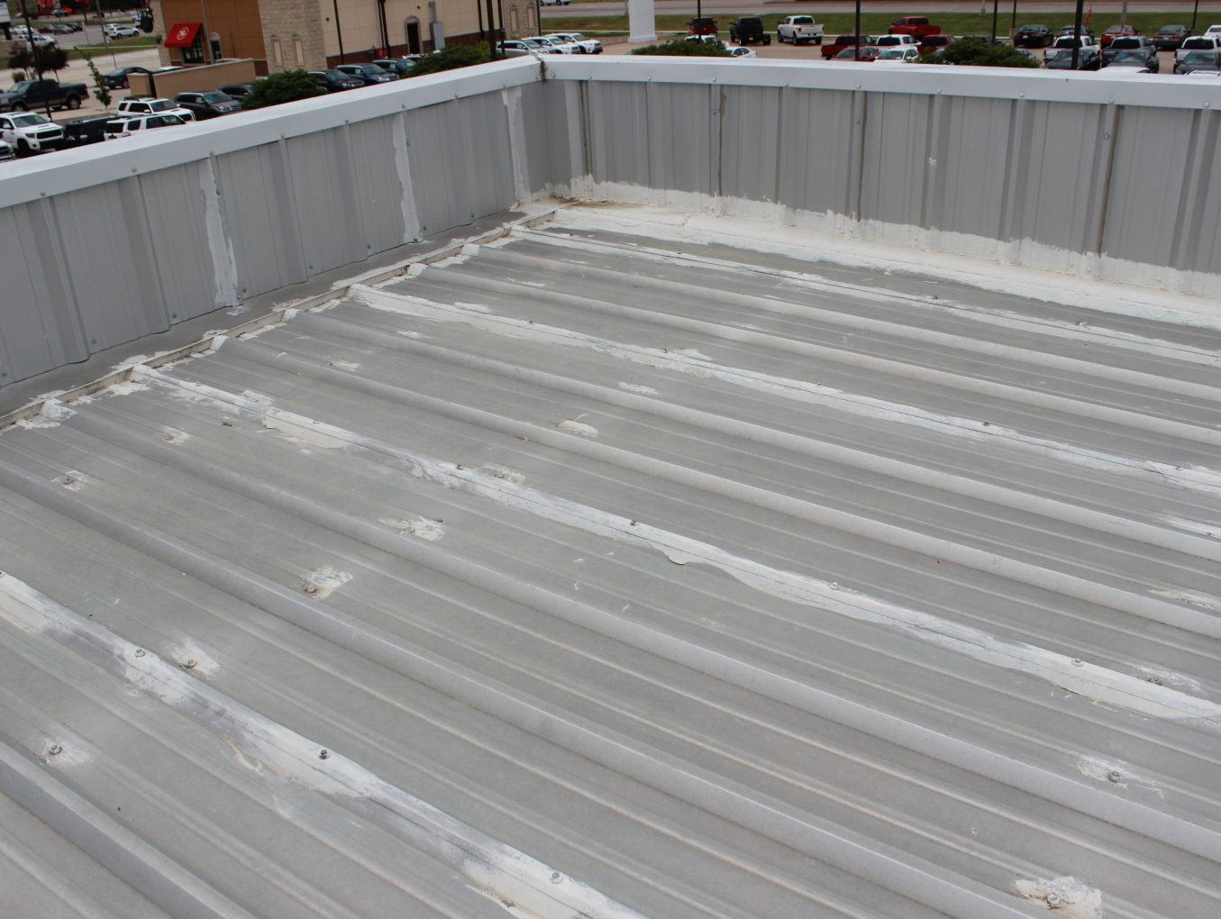 Before Commerical Roof