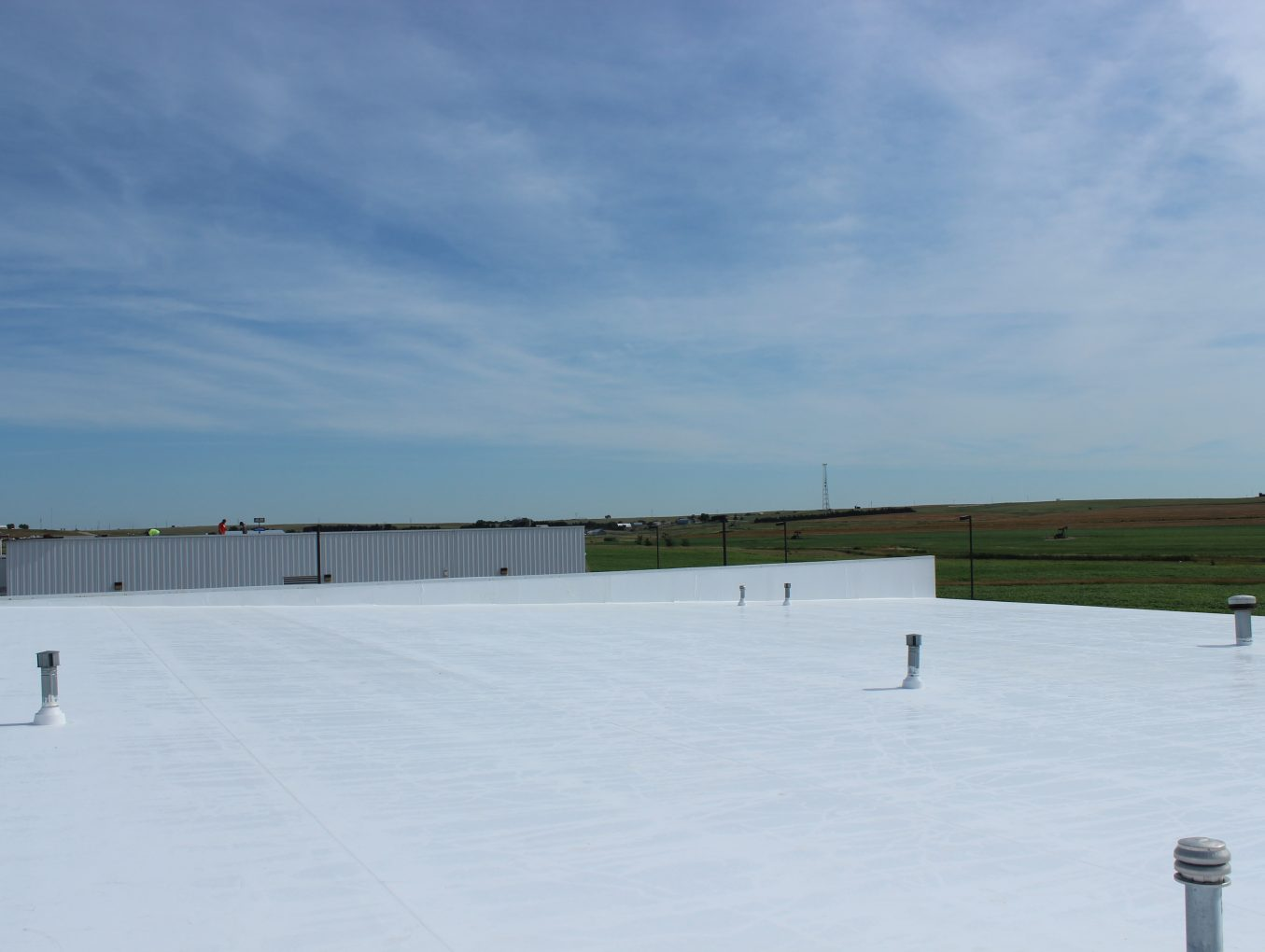 Completed Commerical Roof